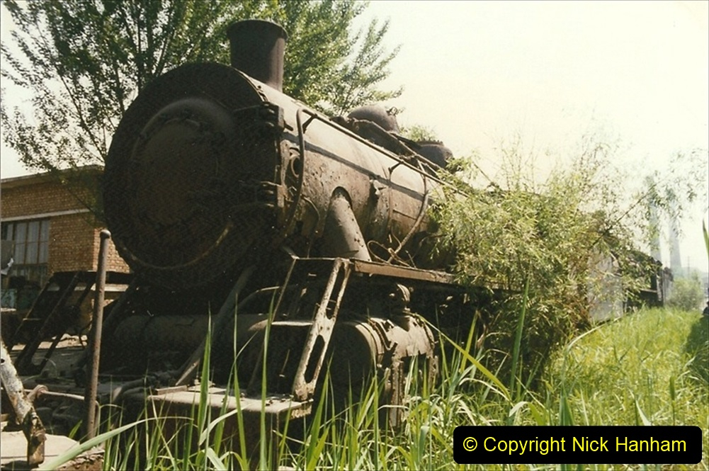 Pakistan and China 1996 June. (172) Baotou China Rail Depot. The Depot Museum. 172