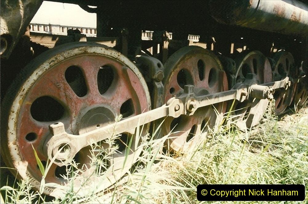 Pakistan and China 1996 June. (173) Baotou China Rail Depot. The Depot Museum. 173