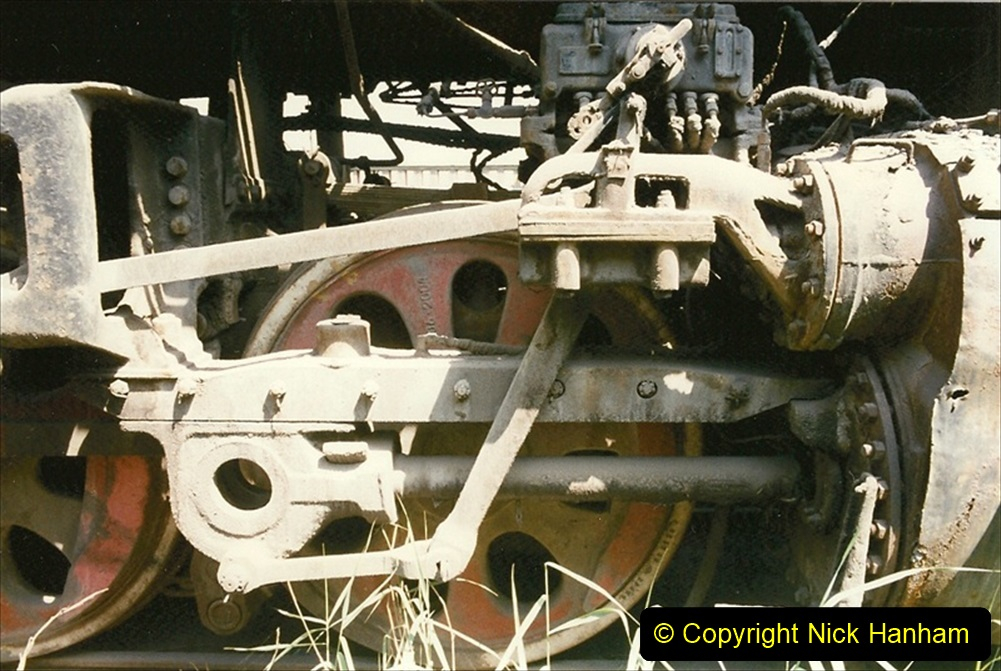Pakistan and China 1996 June. (174) Baotou China Rail Depot. The Depot Museum. 174