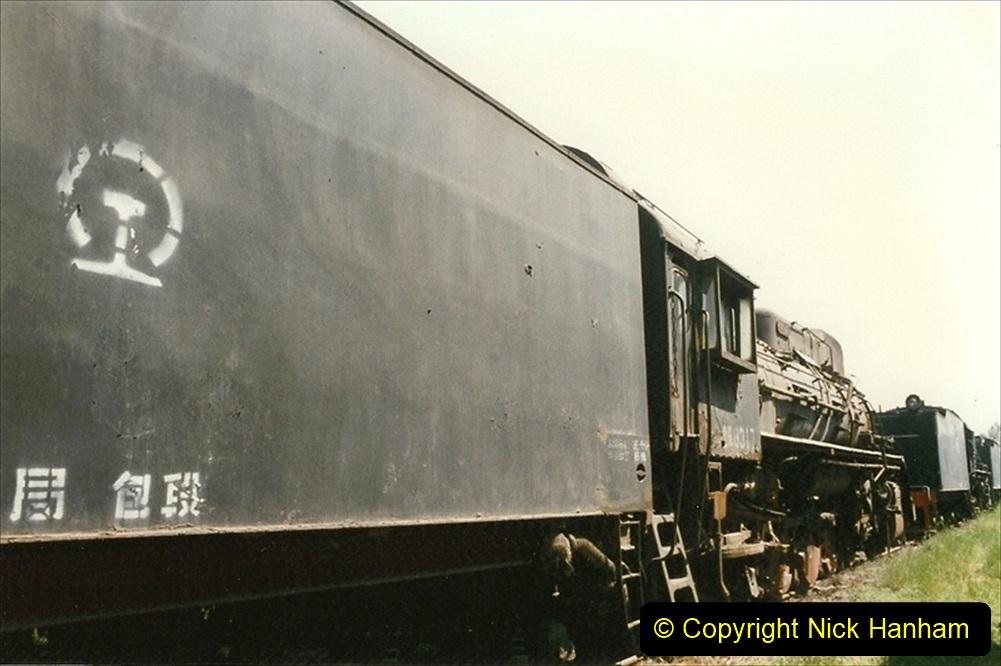 Pakistan and China 1996 June. (176) Baotou China Rail Depot. The Depot Museum. 176