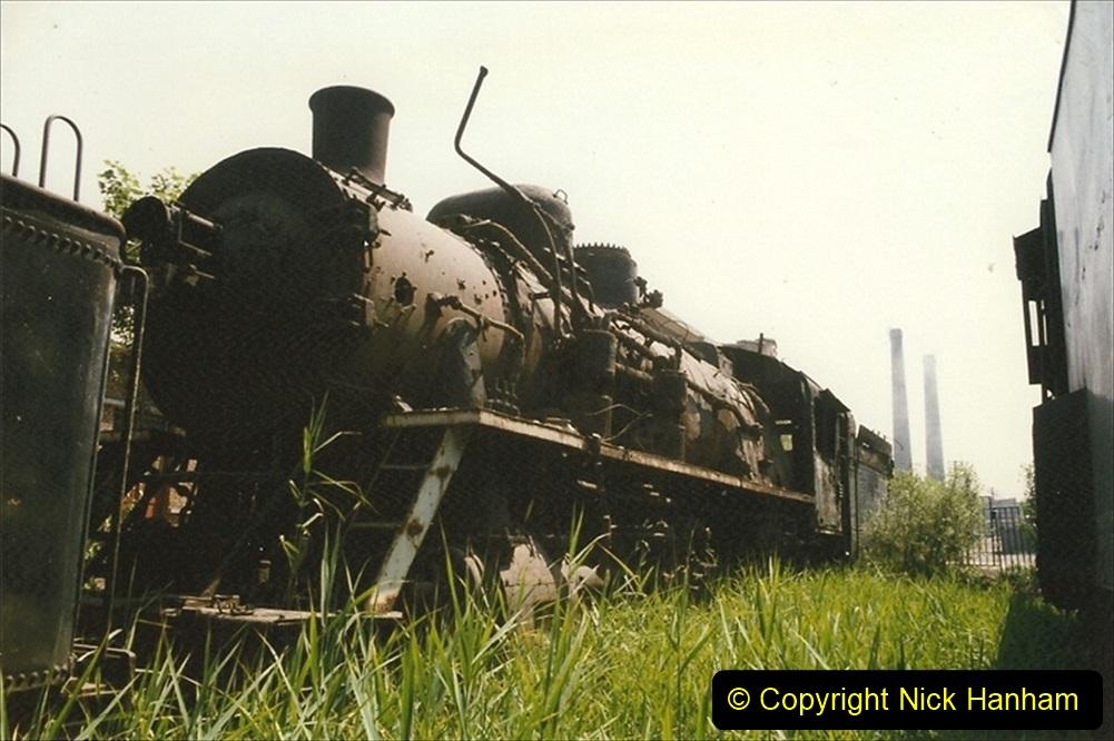 Pakistan and China 1996 June. (177) Baotou China Rail Depot. The Depot Museum. 177