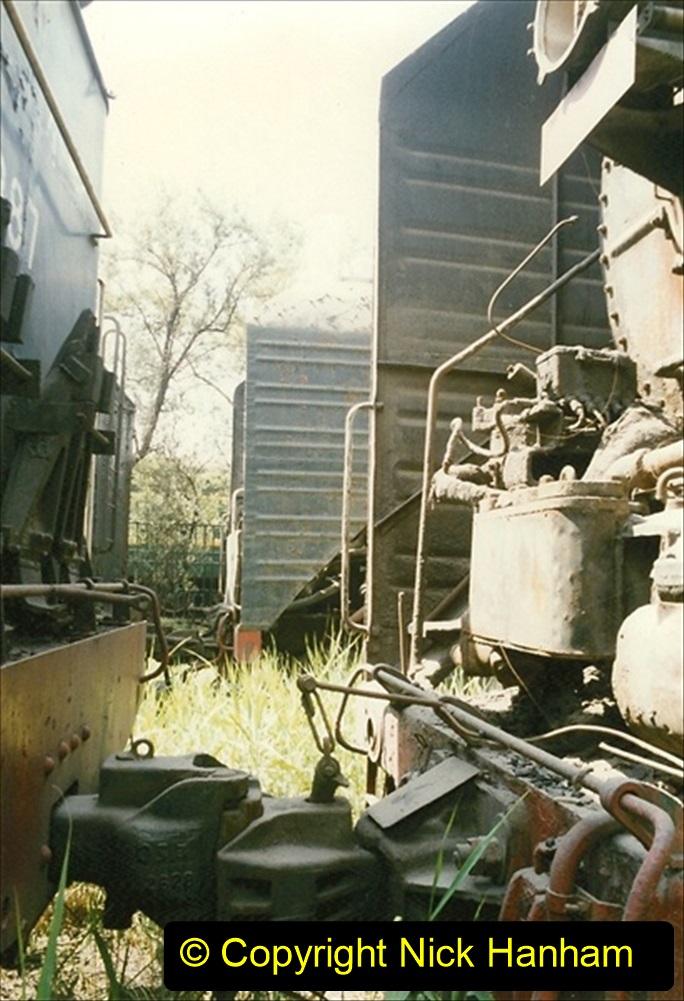 Pakistan and China 1996 June. (181) Baotou China Rail Depot. The Depot Museum. 181