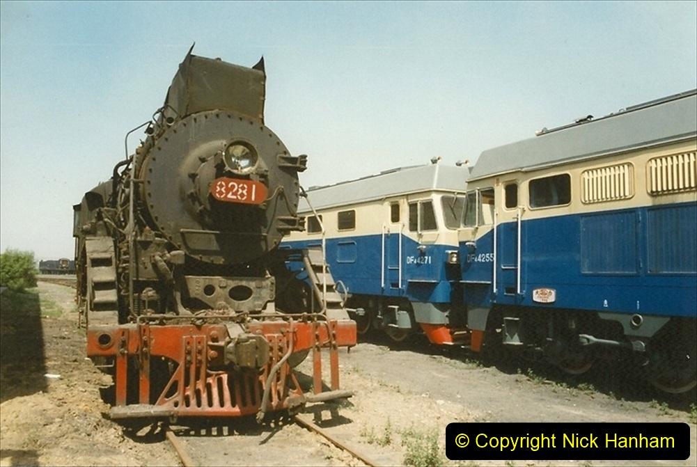 Pakistan and China 1996 June. (183) Baotou China Rail Depot. 183
