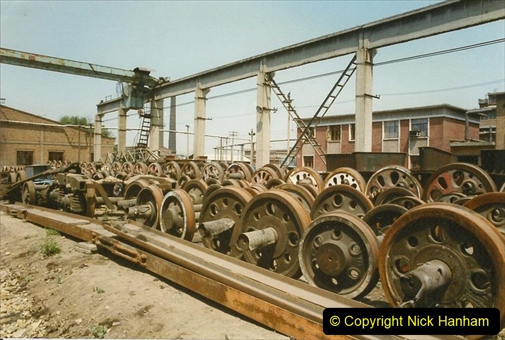 Pakistan and China 1996 June. (189) Baotou China Rail Depot. 189