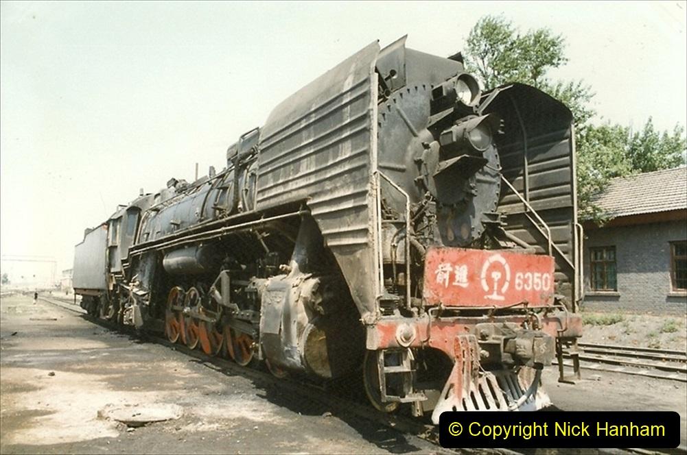 Pakistan and China 1996 June. (193) Baotou China Rail Depot. 193