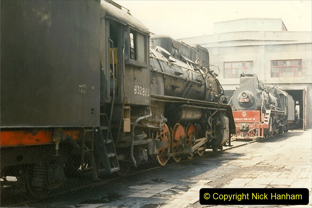 Pakistan and China 1996 June. (219) More of Baotou Depot. 219
