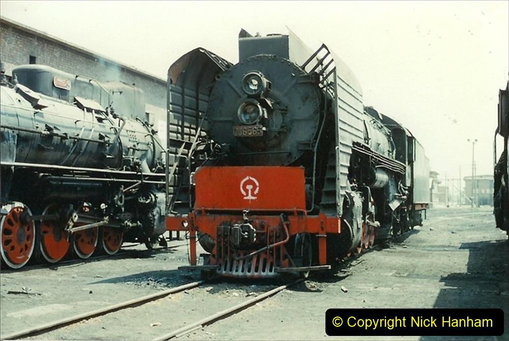 Pakistan and China 1996 June. (221) More of Baotou Depot. 221