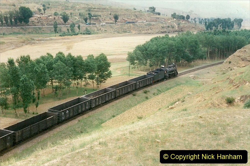 Pakistan and China 1996 June. (377) The Shinguai Branch. 377