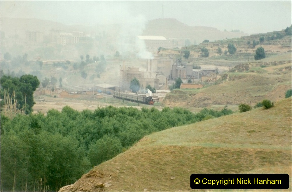 Pakistan and China 1996 June. (379) The Shinguai Branch. 379