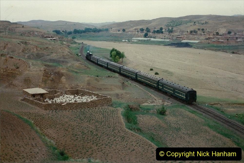 Pakistan and China 1996 June. (385) The Shinguai Branch. 385