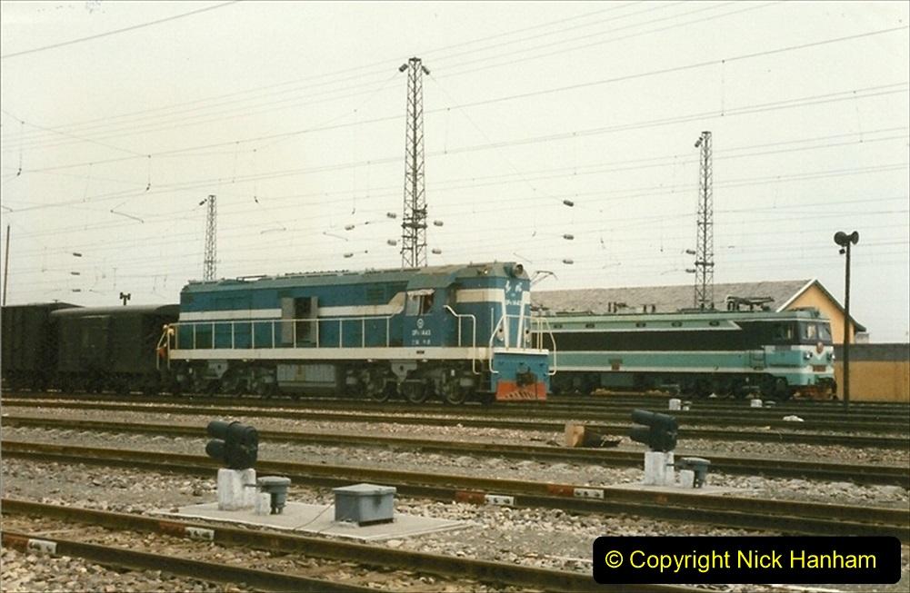 Pakistan and China 1996 June. (56) Zhongwei China Rail Depot. 056