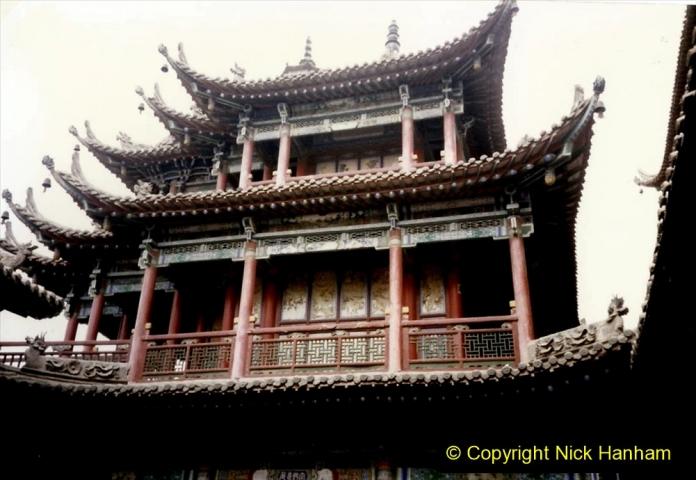 Pakistan and China 1996 June. (117) Gaomiao Temple in Zhongwei. 117