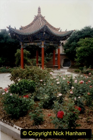 Pakistan and China 1996 June. (123) Gaomiao Temple in Zhongwei. 123