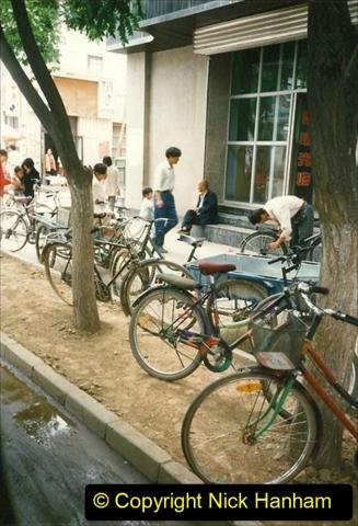 Pakistan and China 1996 June. (127) Zhongwei with replica of Tienanmen Square. 125
