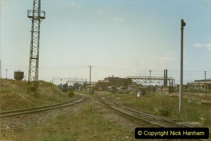 Pakistan and China 1996 June. (162) Baotou China Rail Depot. 162
