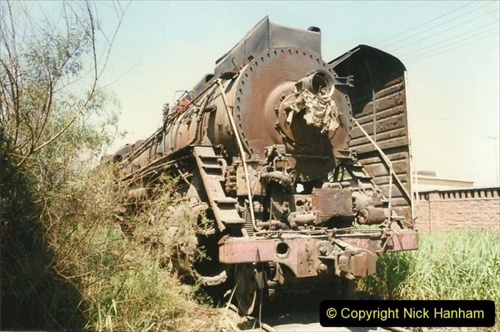 Pakistan and China 1996 June. (163) Baotou China Rail Depot. The Depot Museum. 163