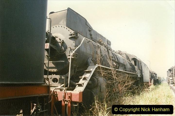 Pakistan and China 1996 June. (165) Baotou China Rail Depot. The Depot Museum. 165