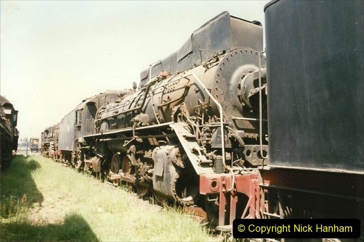 Pakistan and China 1996 June. (169) Baotou China Rail Depot. The Depot Museum. 169