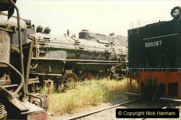 Pakistan and China 1996 June. (170) Baotou China Rail Depot. The Depot Museum. 170