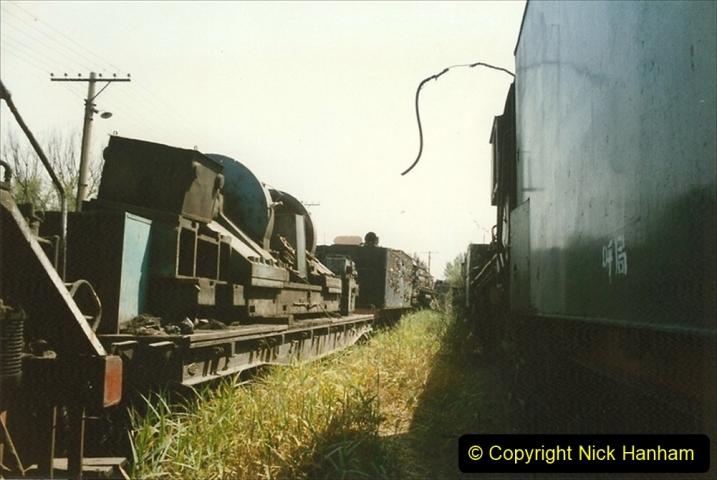 Pakistan and China 1996 June. (175) Baotou China Rail Depot. The Depot Museum. 175
