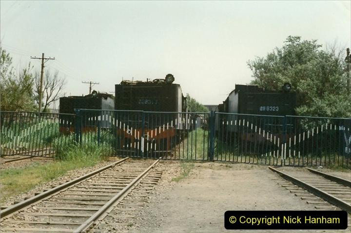 Pakistan and China 1996 June. (178) Baotou China Rail Depot. The Depot Museum. 178