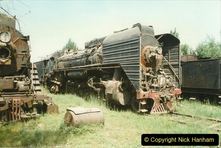 Pakistan and China 1996 June. (180) Baotou China Rail Depot. The Depot Museum. 180