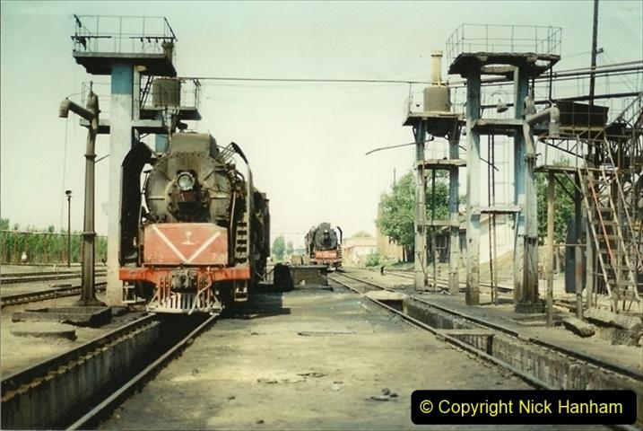 Pakistan and China 1996 June. (192) Baotou China Rail Depot. 192