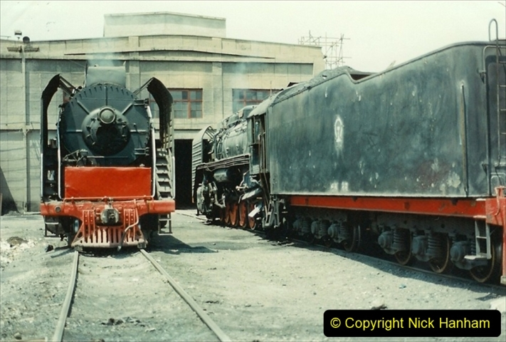 Pakistan and China 1996 June. (216) More of Baotou Depot. 216