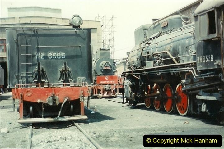 Pakistan and China 1996 June. (217) More of Baotou Depot. 217
