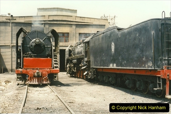 Pakistan and China 1996 June. (218) More of Baotou Depot. 218