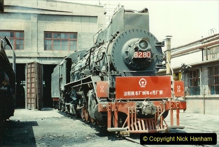 Pakistan and China 1996 June. (220) More of Baotou Depot. 220