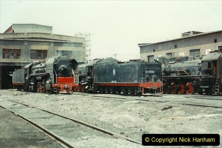 Pakistan and China 1996 June. (222) More of Baotou Depot. 222