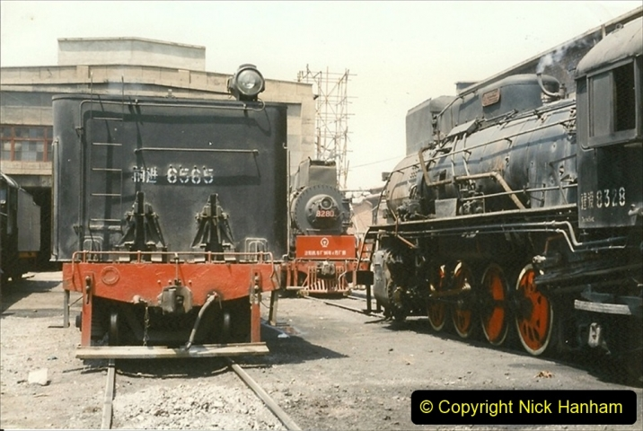 Pakistan and China 1996 June. (233) More of Baotou Depot. 233