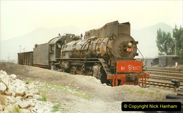 Pakistan and China 1996 June. (372) The Shinguai Branch. 372