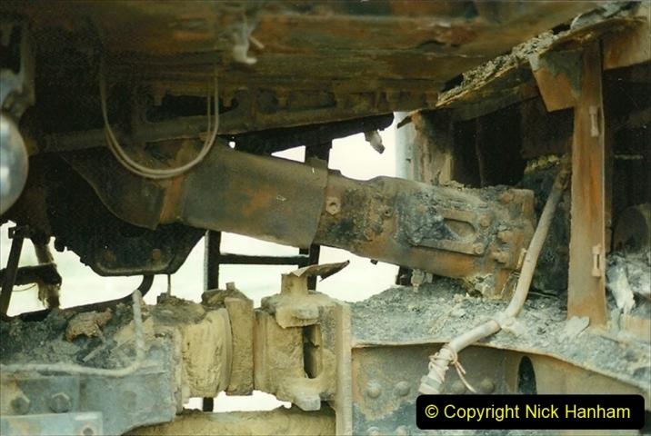 Pakistan and China 1996 June. (48) Zhongwei China Rail Depot. No more steam on the big hill. 048