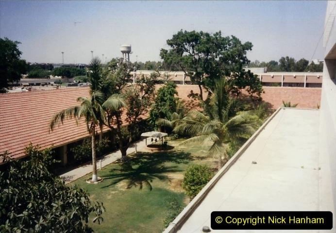 Pakistan and China 1996 June. (12) Karachi Hotel. 012