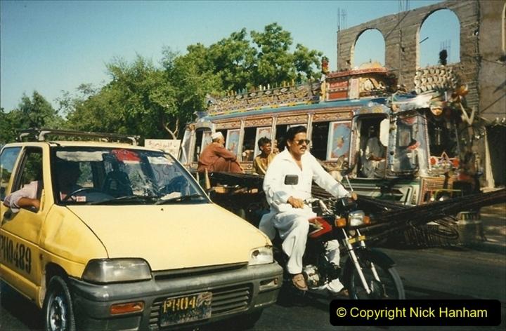 Pakistan and China 1996 June. (13) Around Karachi. 013
