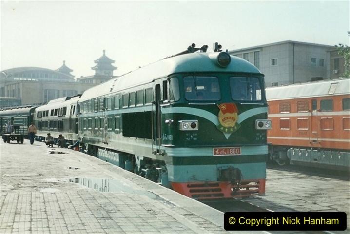 Pakistan and China 1996 June. (145) Beijing Main Station. 145