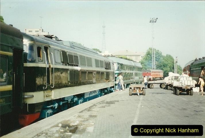 Pakistan and China 1996 June. (150) Beijing Main Station. 150