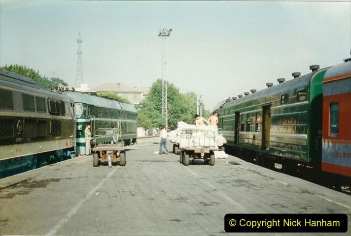 Pakistan and China 1996 June. (152) Beijing Main Station. 152