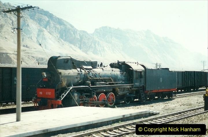 Pakistan and China 1996 June. (178) West to Yinchuan. JS. 178