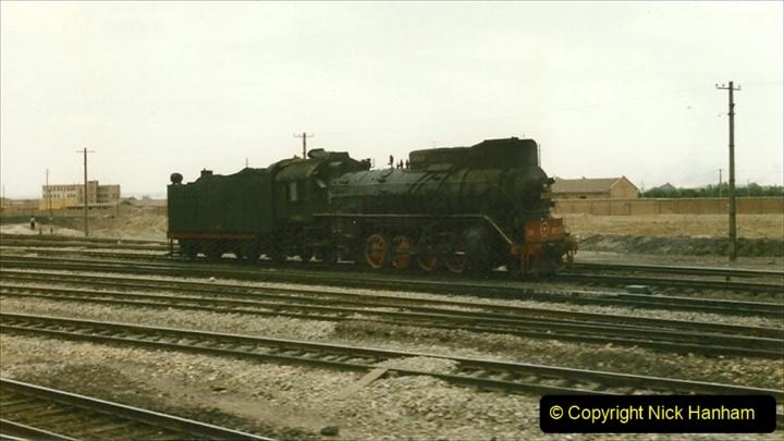Pakistan and China 1996 June. (179) West to Yinchuan. JS. 179