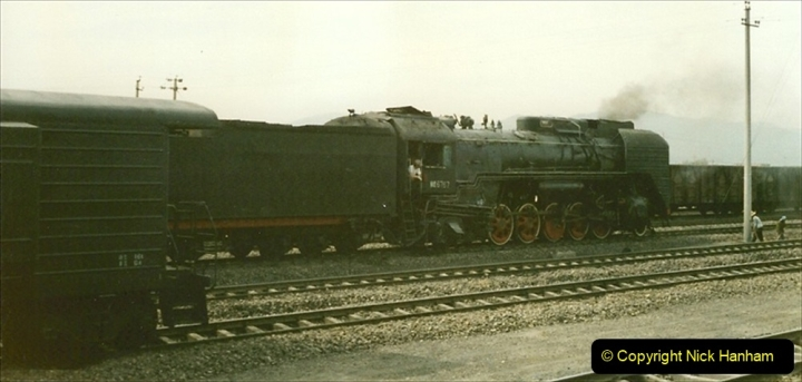 Pakistan and China 1996 June. (183) West to Yinchuan. QJ. 183