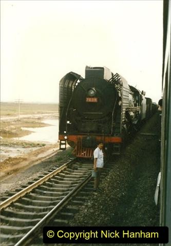 Pakistan and China 1996 June. (184) West to Yinchuan. QJ. 184