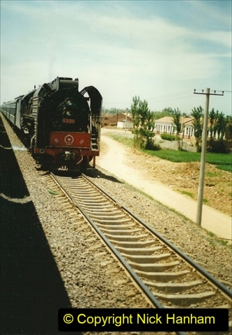 Pakistan and China 1996 June. (188) West to Yinchuan. QJ.188