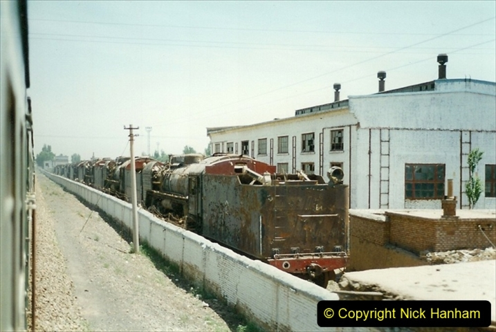 Pakistan and China 1996 June. (189) West to Yinchuan. Redundant QJs.189
