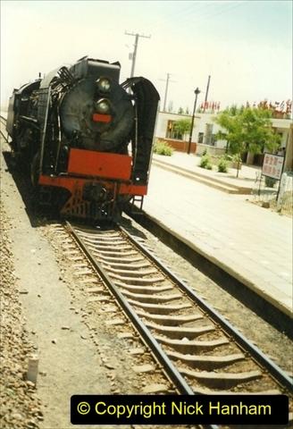 Pakistan and China 1996 June. (191) West to Yinchuan. QJ.191