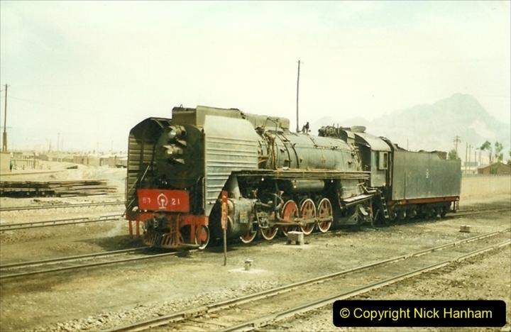 Pakistan and China 1996 June. (196) West to Yinchuan. QJ.196