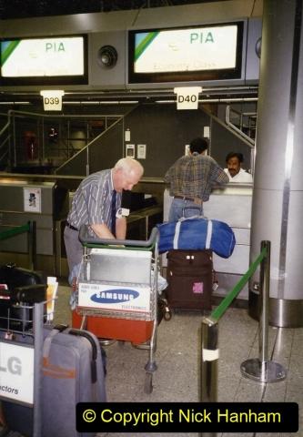 Pakistan and China 1996 June. (2) London Heathrow. 002