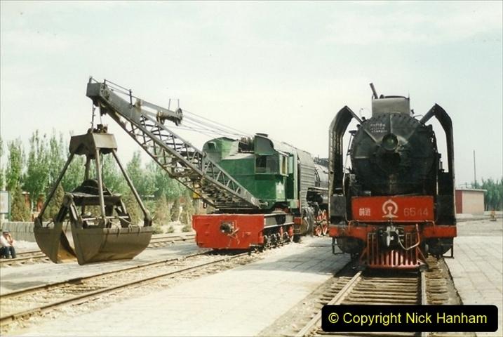 Pakistan and China 1996 June. (226) Shizhuishan China Rail Depot. 226